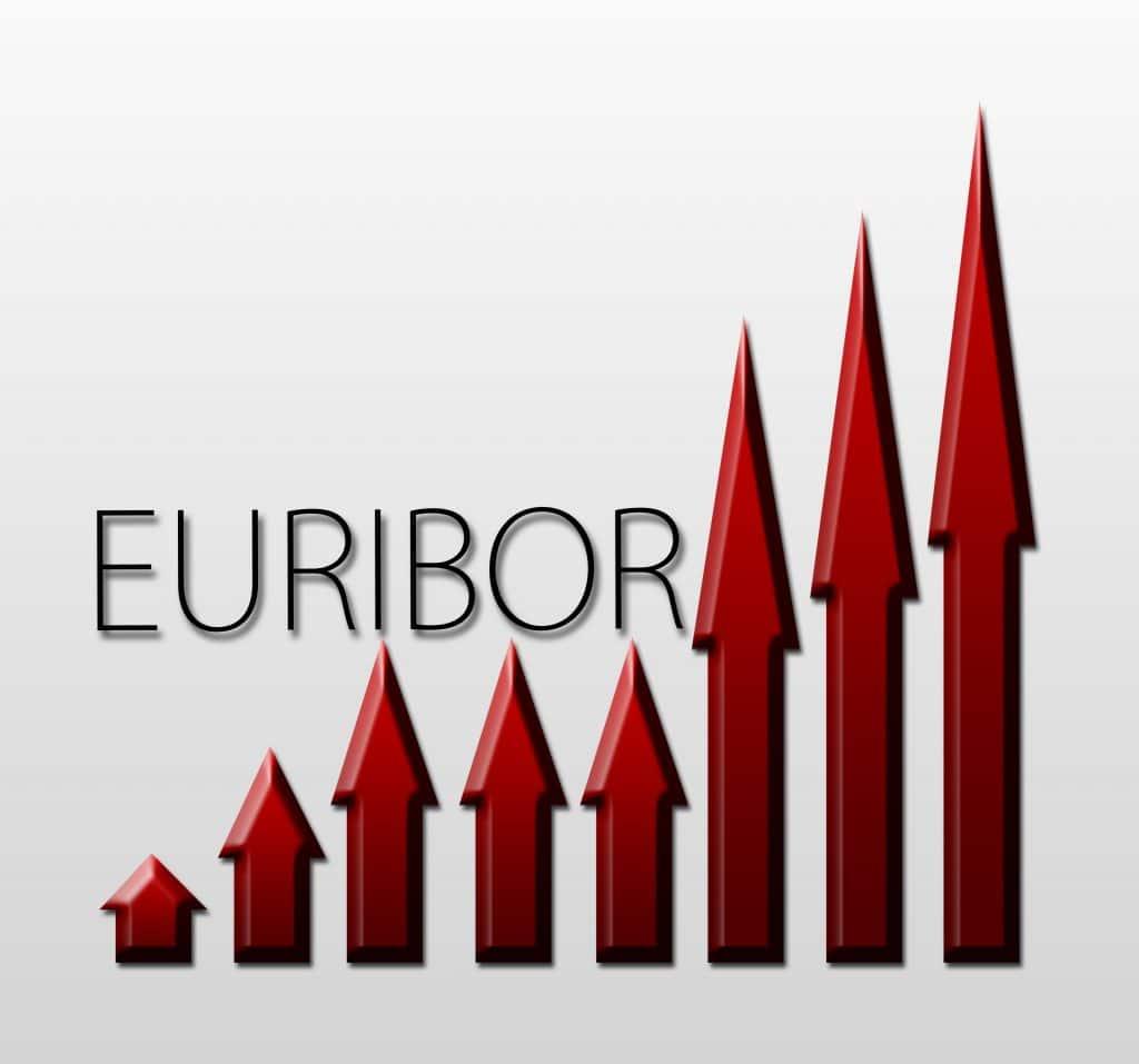Euriborit nousussa